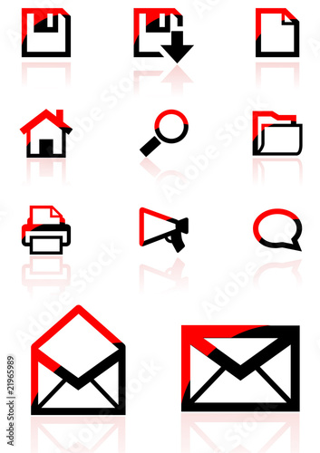 web icons and design element