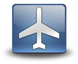"""3D Effect Icon """"Airport / Airplane"""""""
