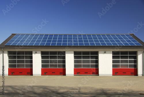 Halle mit Solardach 023 - 21974744