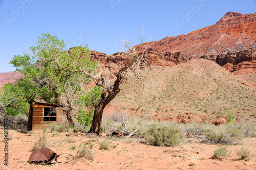 Historic Ranchers Cabin in Paria Canyon Wilderness