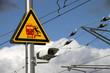 Vorsicht am Bahnsteig