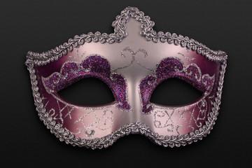 máscara rosa