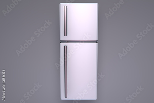 Closed fridge