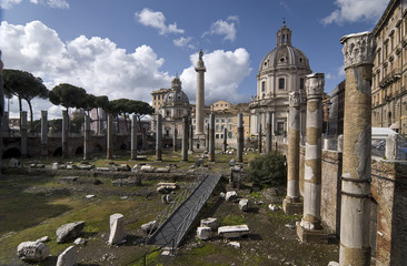 Trajan's Forum and S. Maria di Loreto