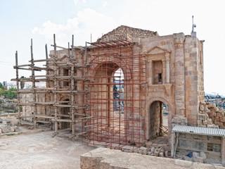 Hadrian's Arch of Triumph in Jerash