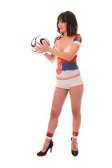 WM-Girl Serbien