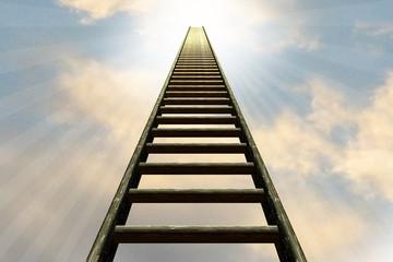 Himmelsleiter - die Leiter nach oben ....