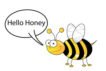 Hello honey bee