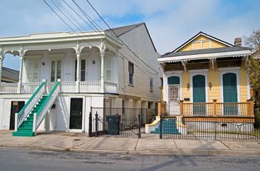 Historische Häuser in New Orleans