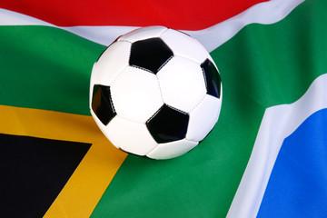 ballon et drapeau