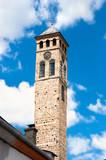 Watch tower detail in Sarajevo poster