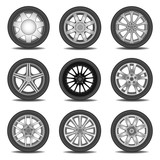 Fototapety tire