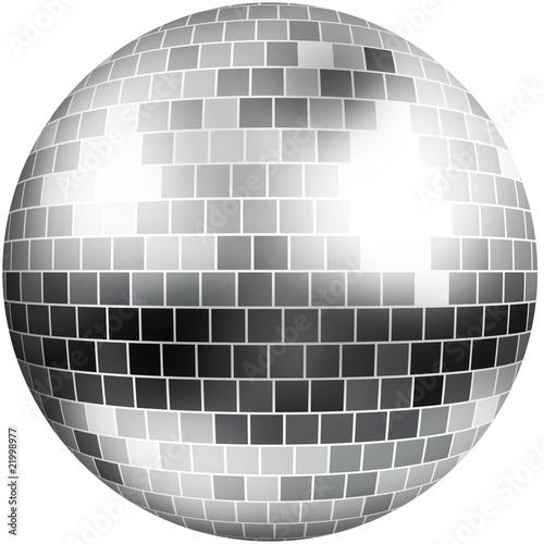 Sfera a specchi discoteca
