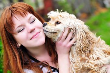 dog's kiss