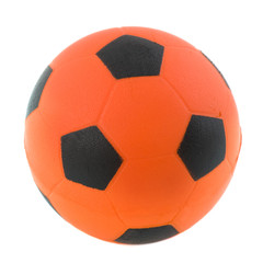 Orange Dutch soccer ball