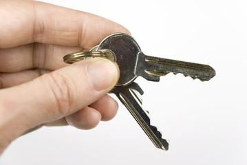 hand key