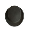 Isolated bowler hat