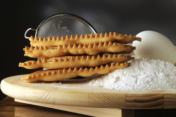 Chiacchiere di carnevale - Cucina italiana