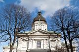 Adolf Fredriks kyrka - Eglise Adolf Frederick à Stockholm poster