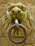 medieval grip handle for horses, Tuscany, Italy poster