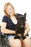 Disabled Girl and Canine Friend poster