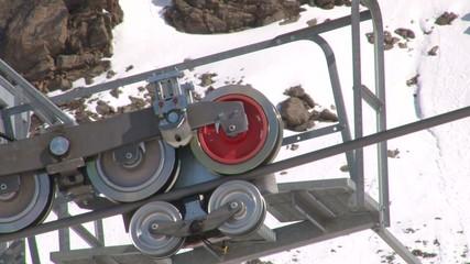 Ski lift detail