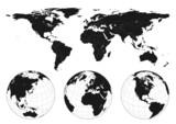 Fototapety World Map