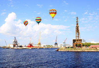 The port of Tampa Florida
