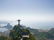 Dramatic Aerial view of Rio De Janeiro