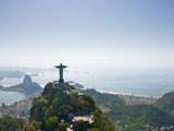 Dramatic Aerial view of Rio De Janeiro - Fine Art prints