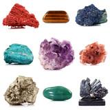 collezione di minerali poster