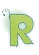letra R alfabeto ecology