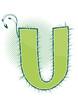 letra U alfabeto ecology