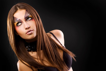 Girl with make-up