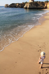 walking the shoreline