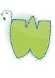 letra W alfabeto ecology