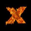 Burning small X