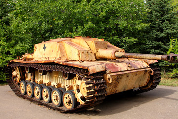 German fascist Tank