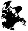 Landkarte - Ostseeinsel Rügen (01)