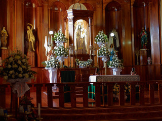 The altar of the Catholic Church in Mexico