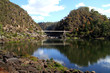 Cataract Gorge in Launcheston. Tasmania.