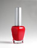 Red nail varnish poster