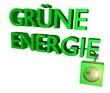 Grüne Energie 3d