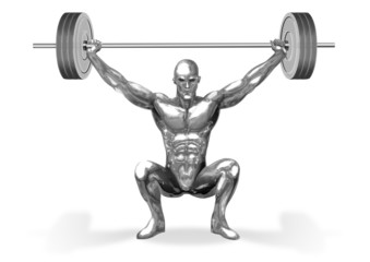 Chromeman_Weight Lifting