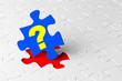 Fragezeichen puzzle