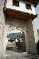 Mostar - Accesso al ponte - Bosnia e Erzegovina