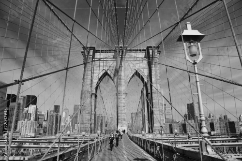 Brooklyn Bridge, New York - 22042935