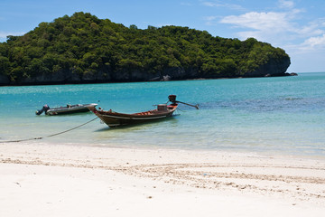 And-Thong Island Beach Boat, Thailand