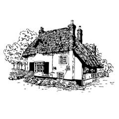 maison, vecteur