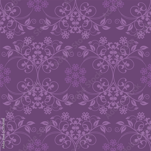 Beautiful seamless purple wallpaper